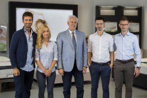 Lo staff di Materassi Valsecchi, leader a Verona per il riposo e il benessere.